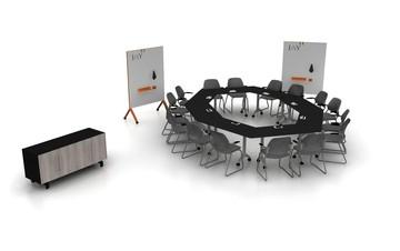 Rest der Welt  Meetingraum Brand New 18 Person Meeting  Room-38th Street image 2