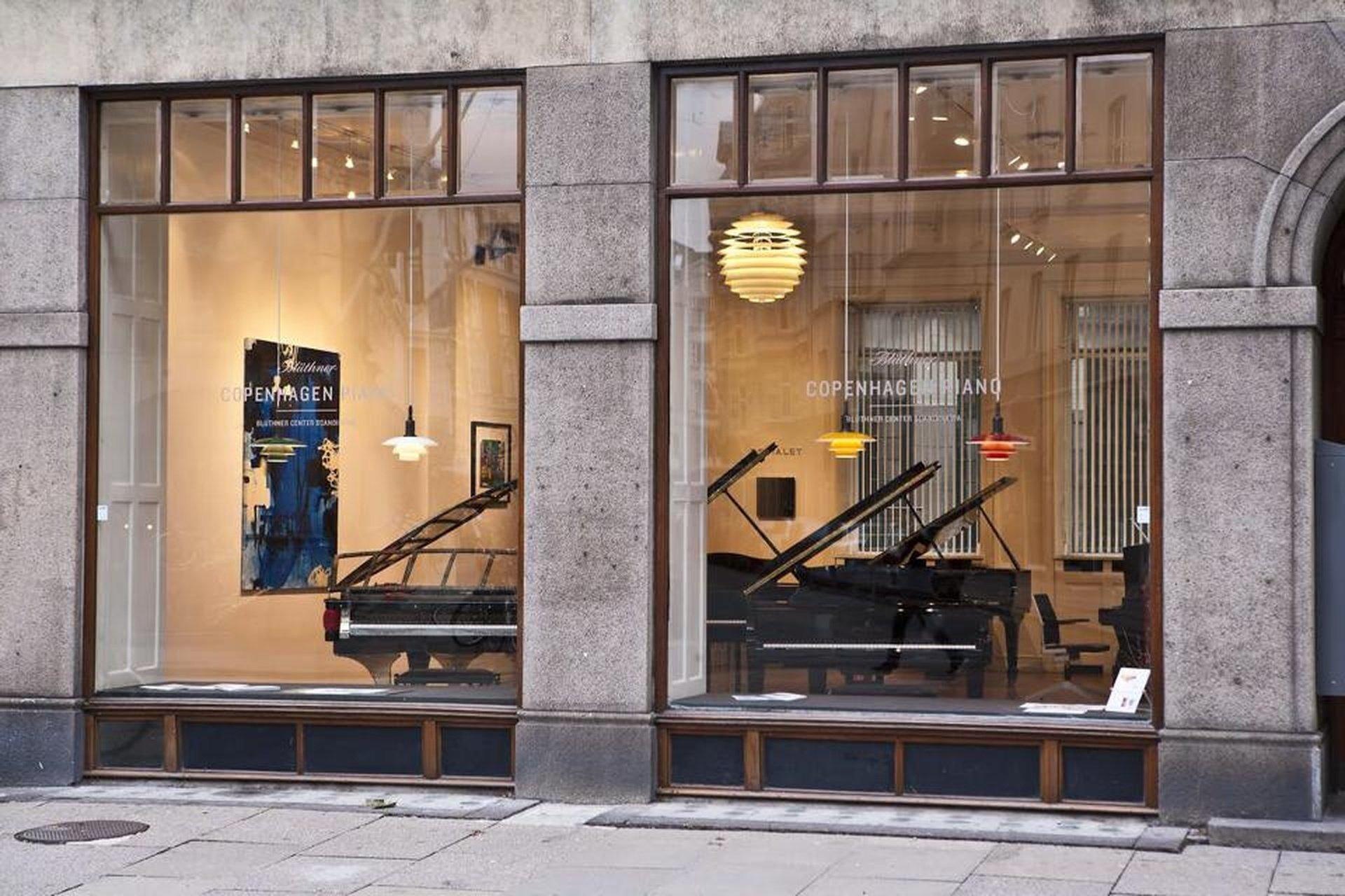 Copenhague corporate event venues Salle de réception PH Pianos image 0