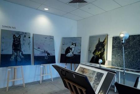 Rest der Welt workshop spaces Galerie Artistry image 4