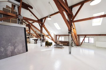 Zurich  Unusual Attic Loft Studio image 1