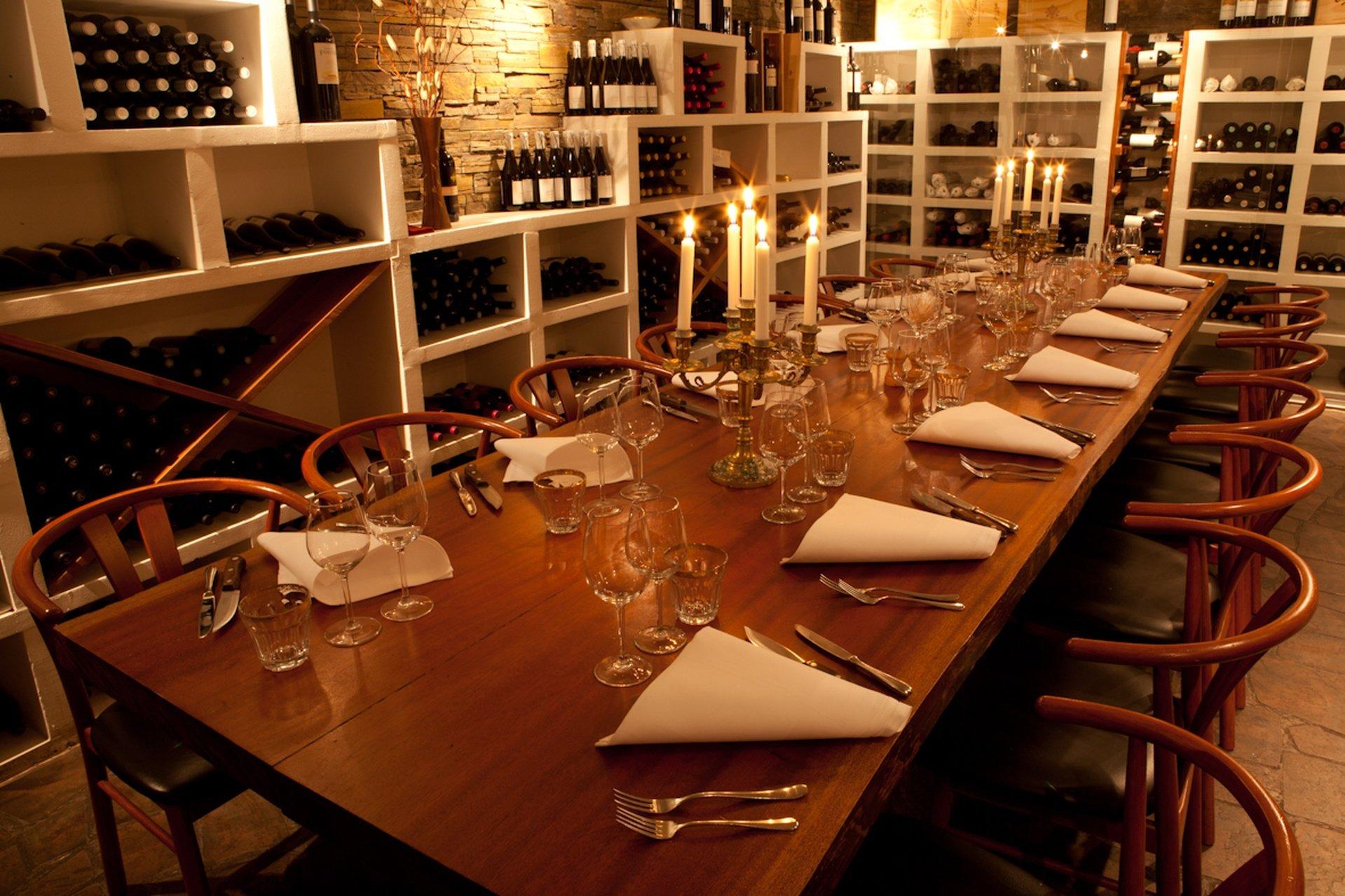 Copenhague corporate event venues Restaurant Restaurant Fuego Wine Cellar image 0