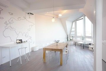 Berlin workshop spaces Private residence Penthouse loft in Berlin Mitte with amazing skyline view image 13