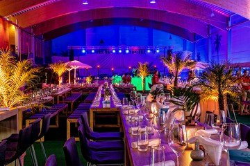 Berlin corporate event venues Party room Beach Berlin - Indoor BeachCenter image 0