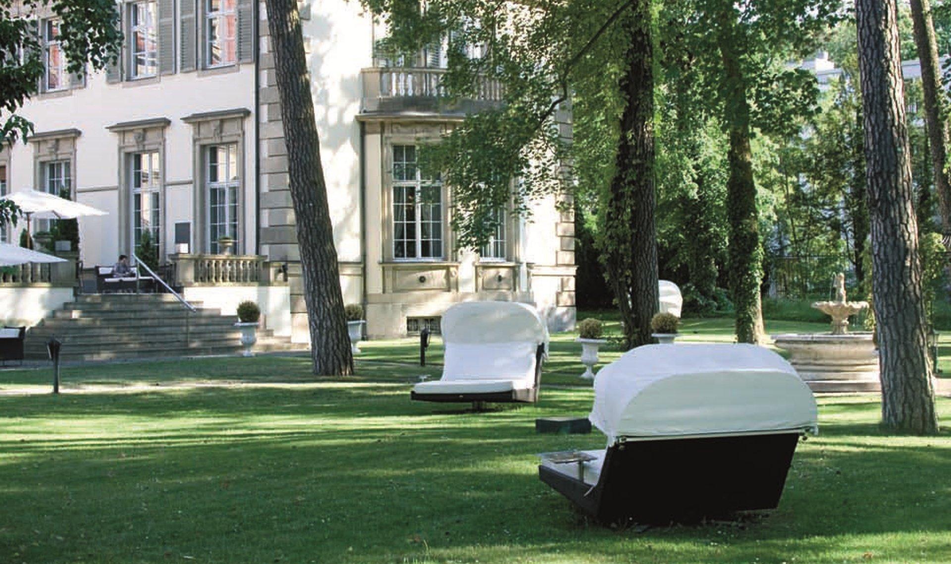 Berlin workshop spaces Patio / Cour extérieure Garden - SCHLOSSHOTEL IM GRUNEWALD image 0