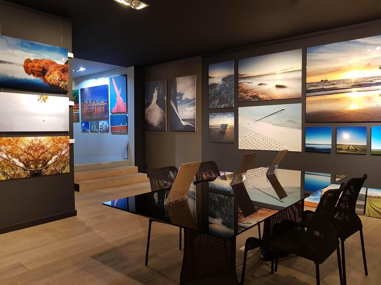 Hamburg Schulungsräume Galerie d'art \SLIFE\ Glastisch image 2