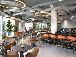 London workshop spaces Cafe Cafe Lounge image 1