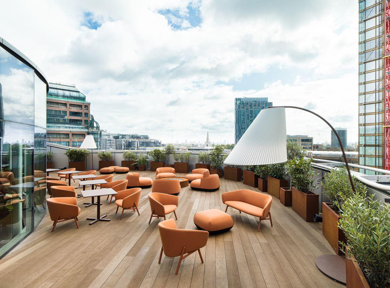 London corporate event spaces Terrace Outdoor Terrace image 0