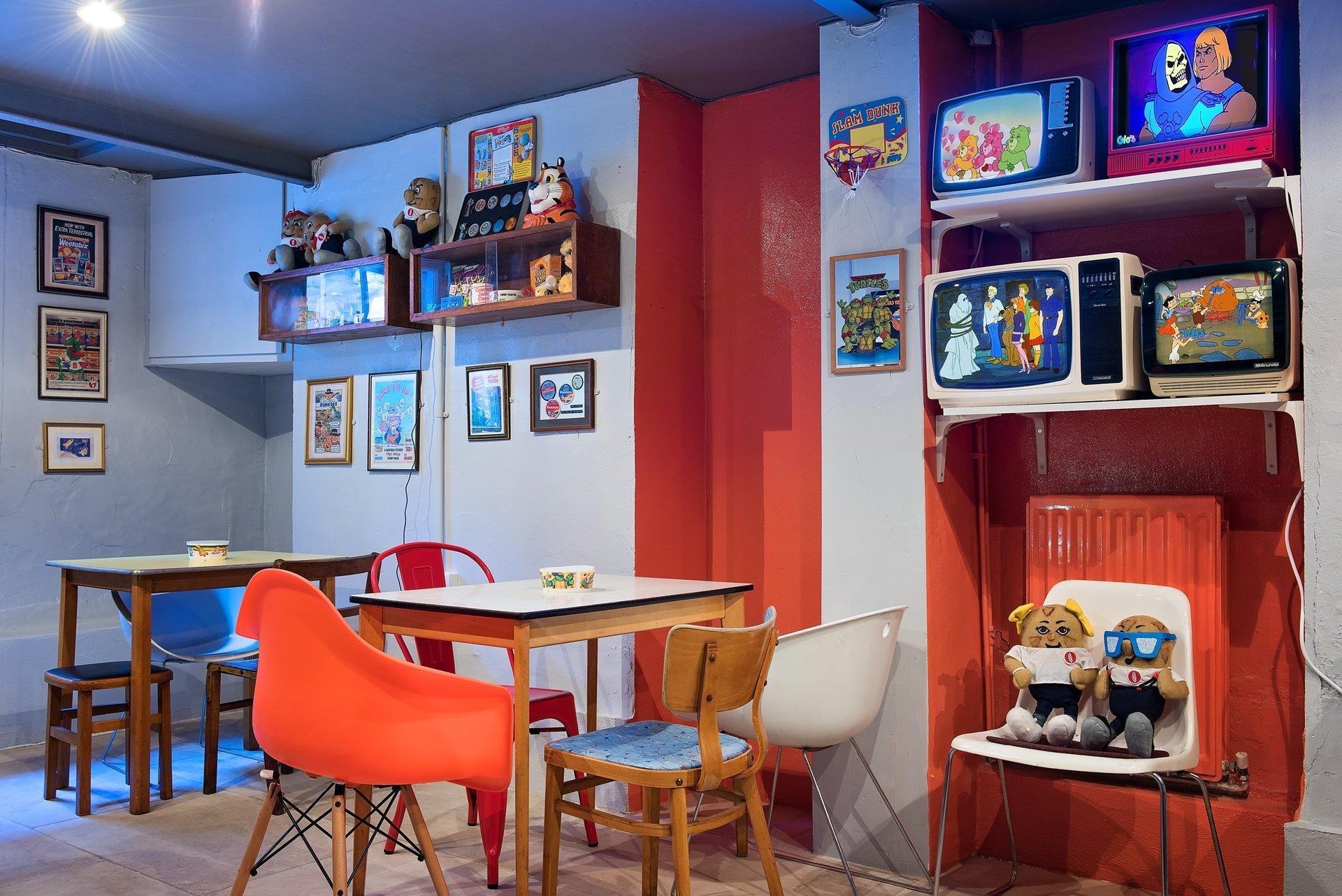 Londres workshop spaces Café Cereal Killer Cafe image 0