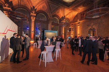 Paris corporate event venues Party room La gaîte lyrique - Historical foyer image 11