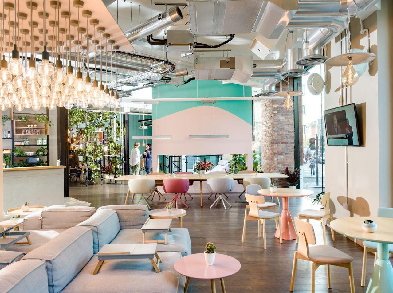 Londres training rooms Café Café Lounge image 0