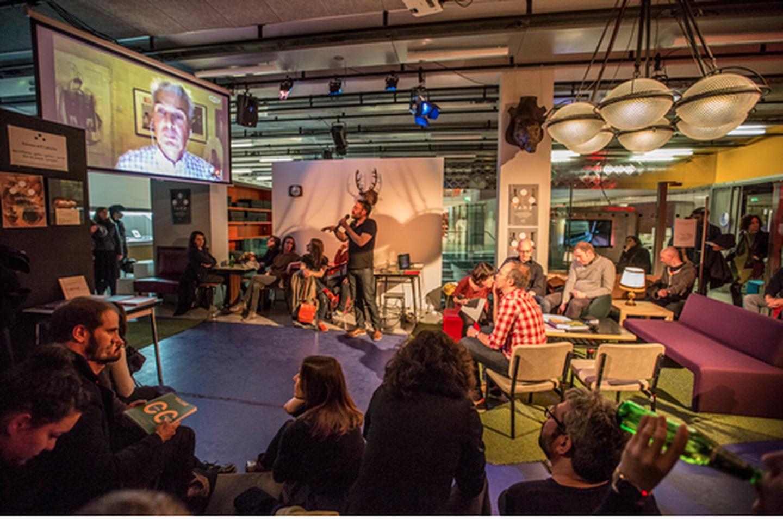Paris corporate event venues Restaurant La gaîte lyrique - Media Platform image 0