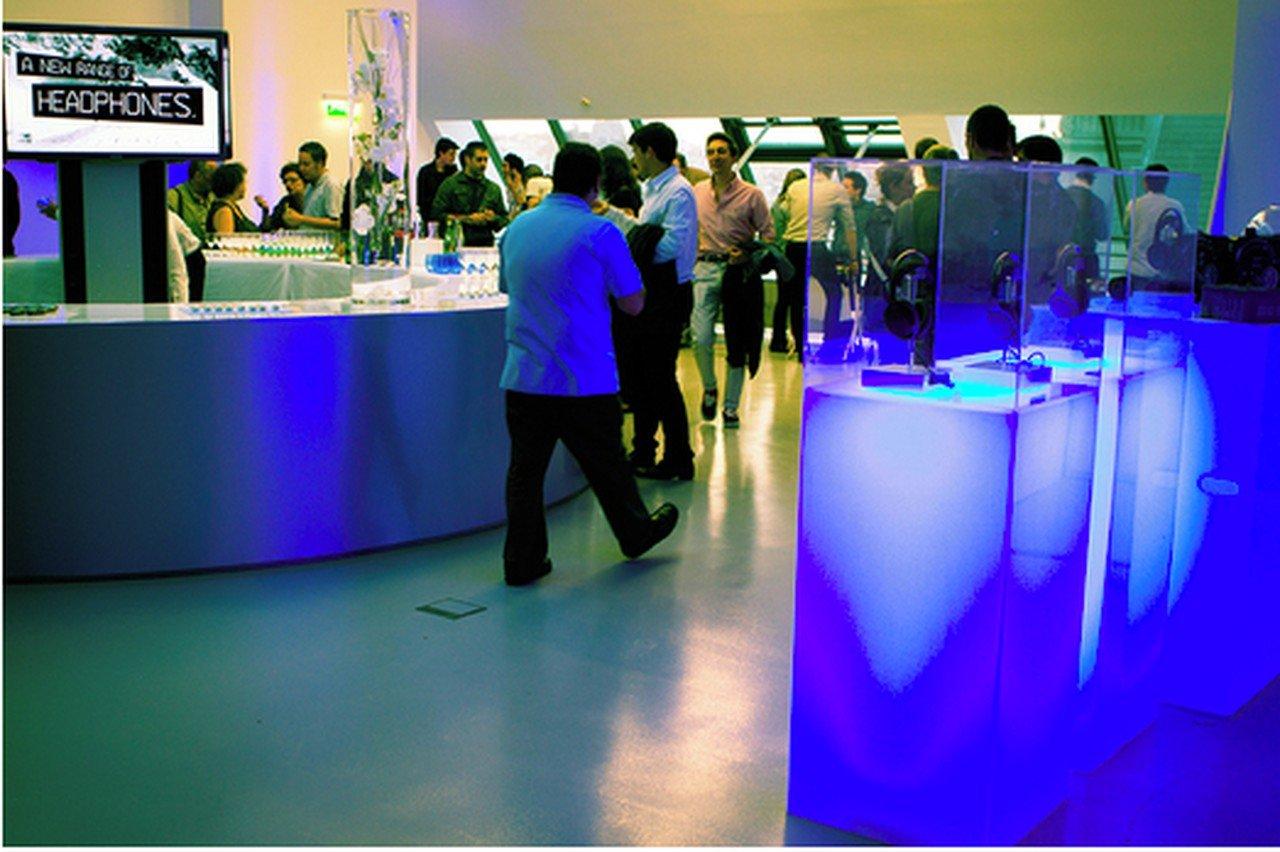 Paris corporate event venues Partyraum La gaîte lyrique - Montmartre space image 0