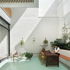 Barcelona training rooms Industriegebäude Garten Raum image 0