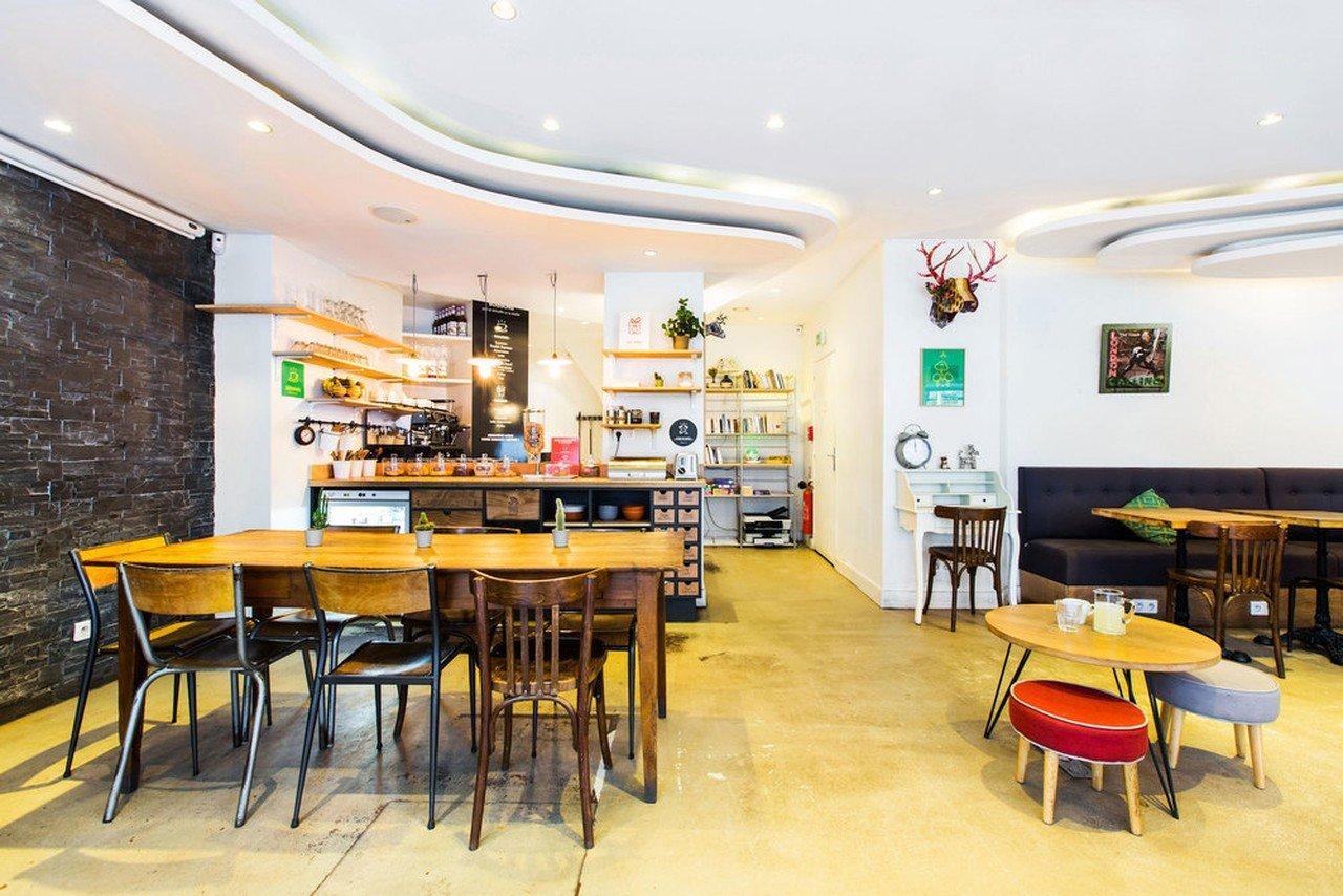 Paris corporate event venues Cafe AntiCafé Louvre image 0
