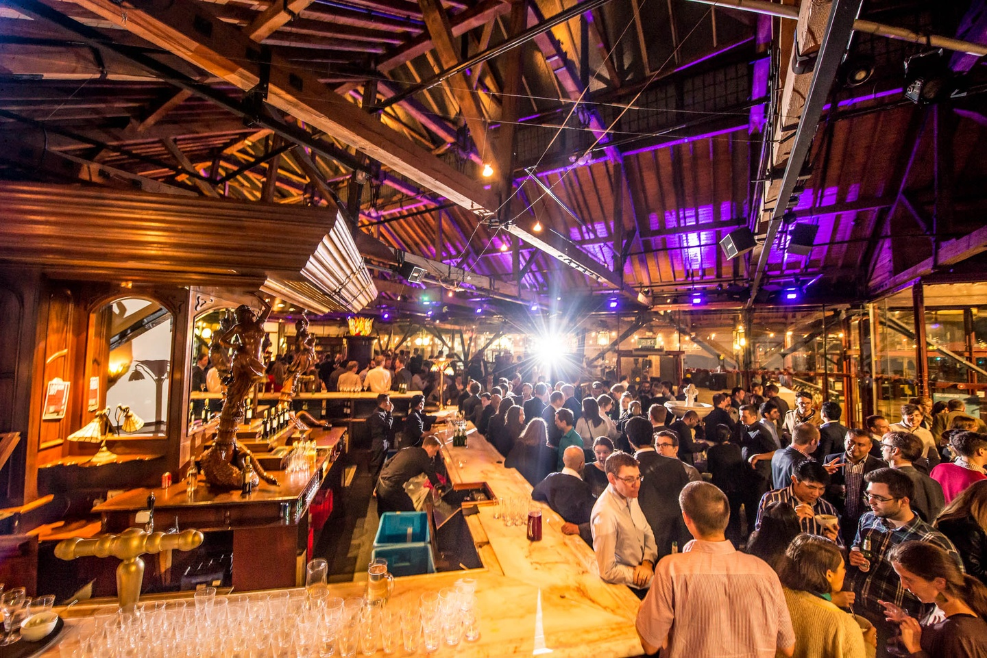 London corporate event venues Bar Tobacco Dock - Quayside Bar image 11