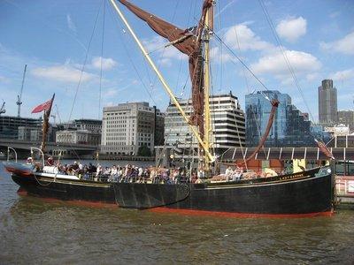 London corporate event venues Boat Lady Daphne image 0