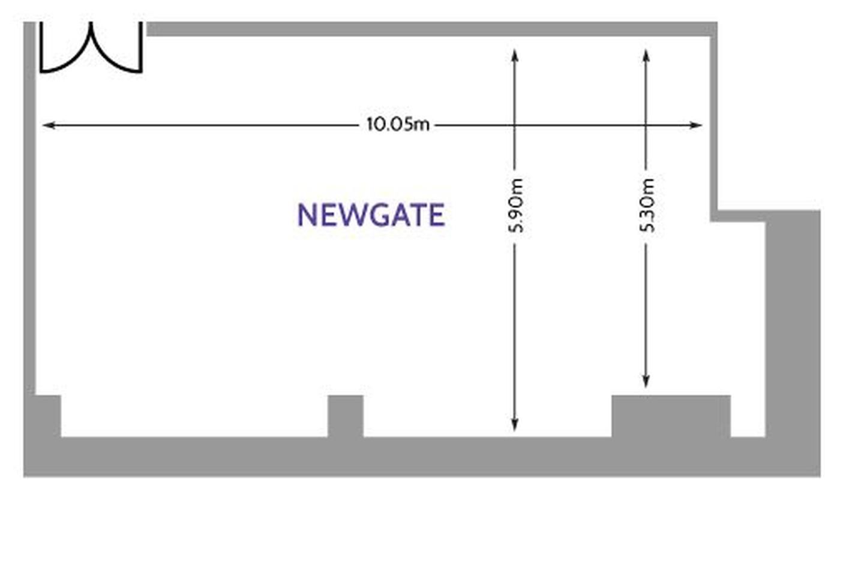 Londres training rooms Salle de réunion America Square - Newgate Suite image 10