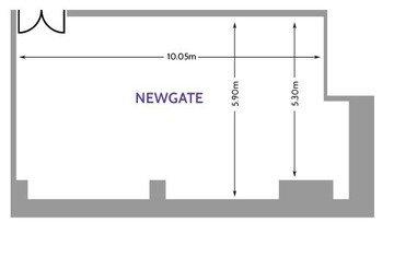 London training rooms Meetingraum America Square - Newgate Suite image 10
