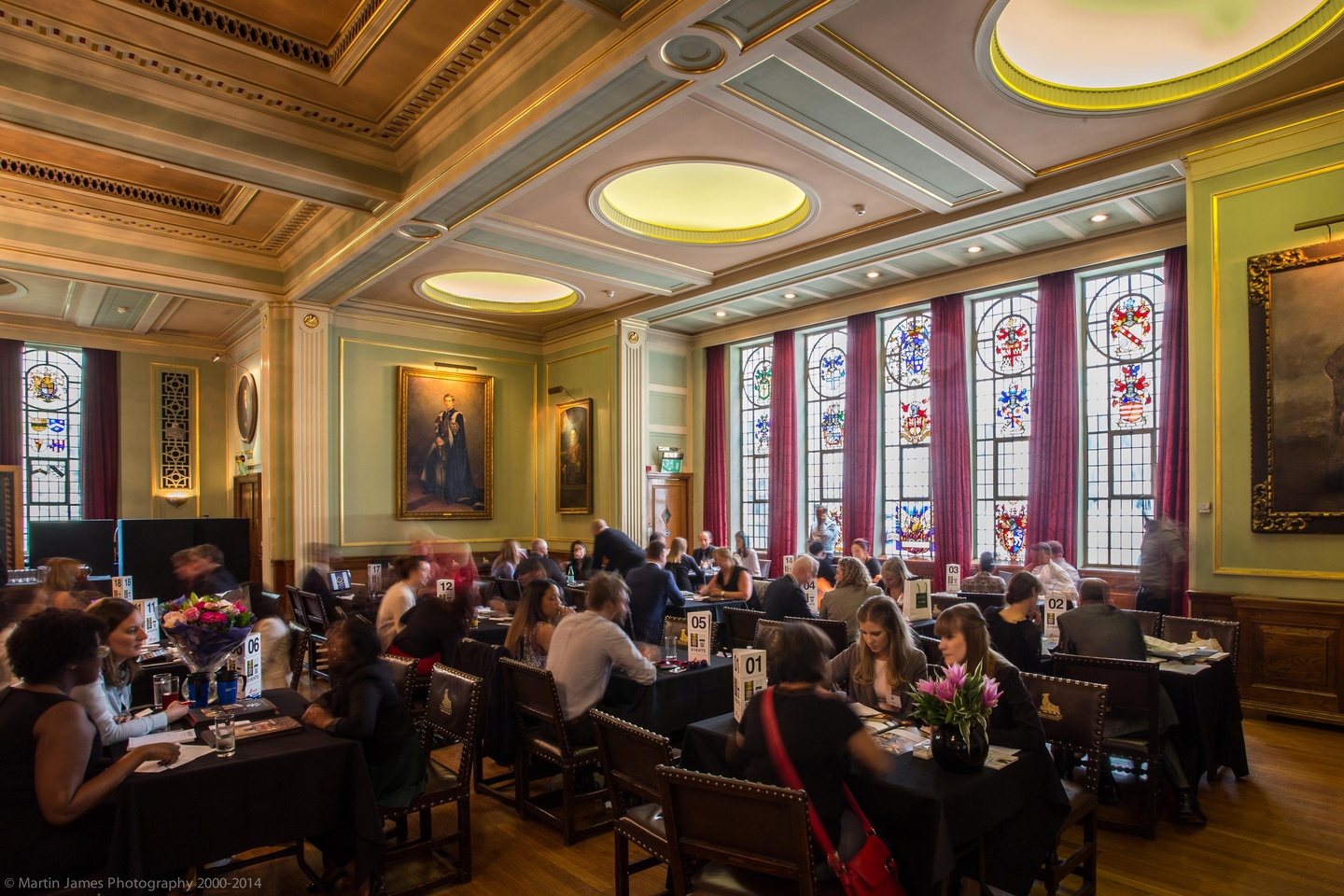 London corporate event venues Party room Painters Hall - The Livery Hall image 11