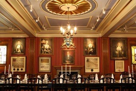 London corporate event venues Historic venue Painters Hall - The Court Room image 11