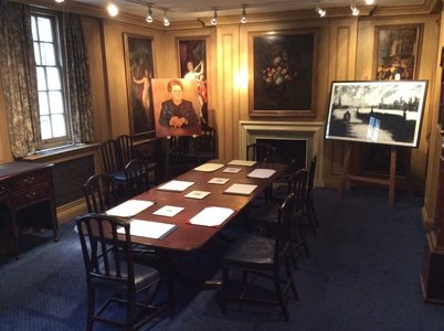 London conference rooms Meeting room Painters Hall - The Painted Chamber Boardroom image 0