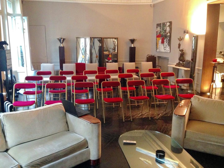 Paris corporate event venues Private residence Champs Elysées triangle d'or (220m2) image 66
