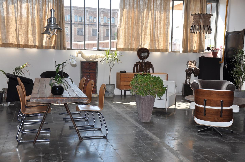 Barcelona workshop spaces Private residence Doble 36 - Living Room image 11