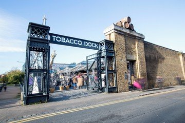 London corporate event venues Industriegebäude Tobacco Dock - North Vaults image 11
