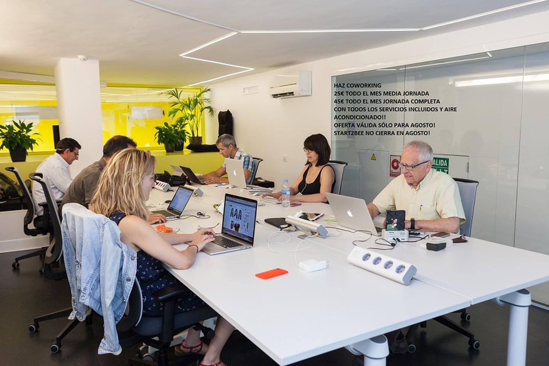 Barcelone workshop spaces Espace de Coworking Start2bee Escorial Workshoproom image 11