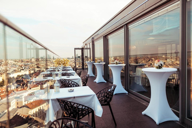 Wien Eventräume Dachterrasse Haus am Meeres - Top Floor image 7