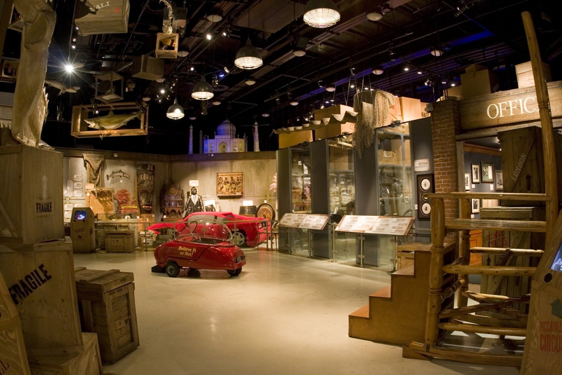 Londres corporate event venues Musée Ripley's Believe It Or Not image 0
