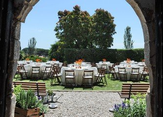 Barcelona corporate event venues Grünfläche Masia Can Tosca image 11