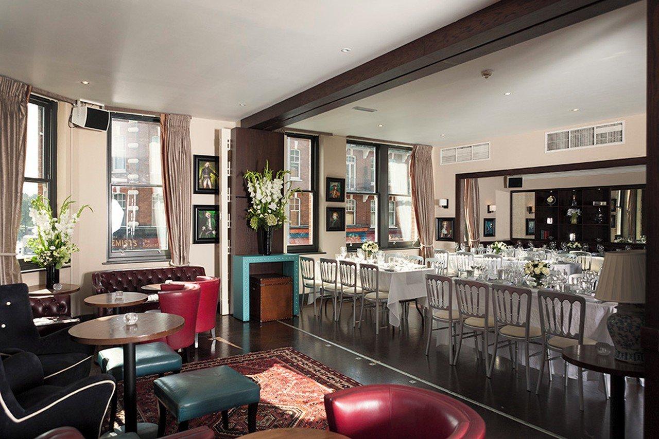 Londres corporate event venues Salle de réception Beaufort House - Member's Lounge image 0