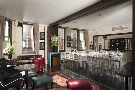 London corporate event venues Partyraum Beaufort House - Member's Lounge image 0