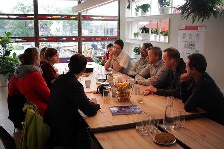 Amsterdam workshop spaces Meetingraum Metabolic Lab image 1