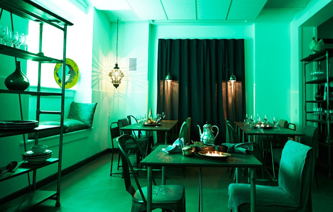 Kopenhagen corporate event venues Restaurant Manzel - The Pipe Dining Room image 0