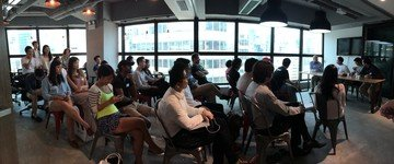Hong Kong seminar rooms Coworking Space TusPark Workhub Causeway Bay - Event Space image 0