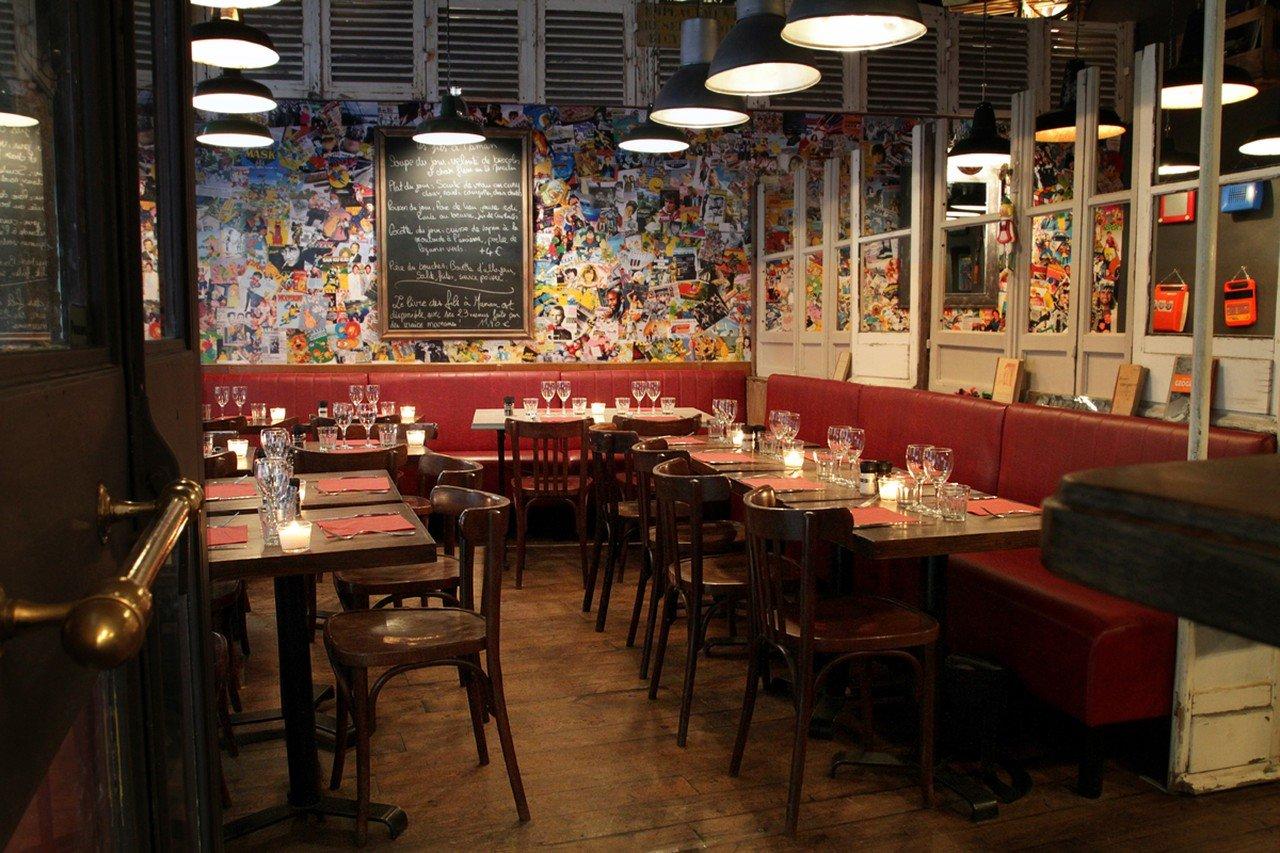 Rest der Welt workshop spaces Restaurant Les fils à Maman - Lyon image 0