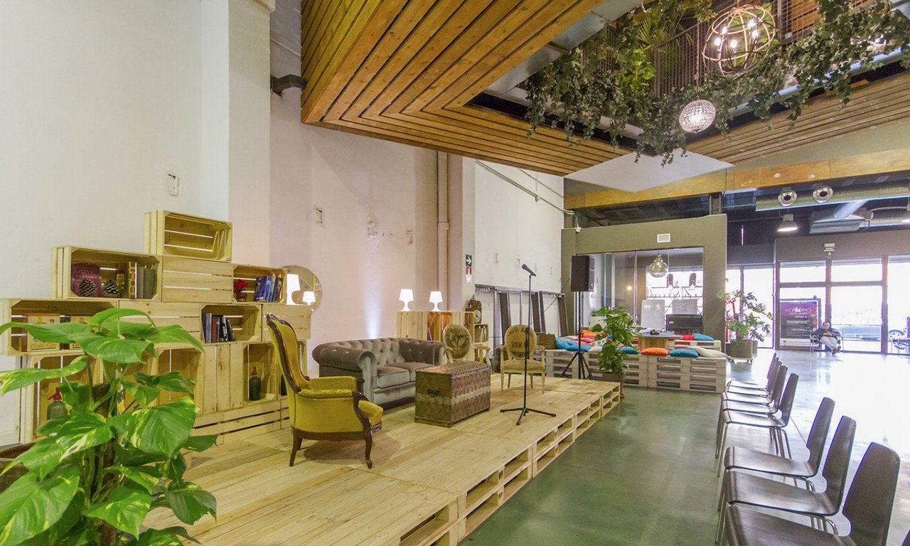 Barcelona workshop spaces Party room Valkiria Hub Space - Whole Ground Floor image 0