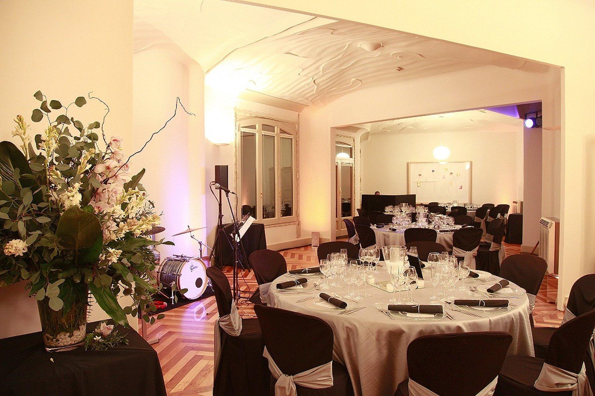 Barcelona corporate event venues Party room La Pedrera - Sala Passeig de Gràcia image 0