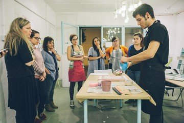 Barcelone workshop spaces Galerie d'art Cadaver Exquisit - Large Room image 2