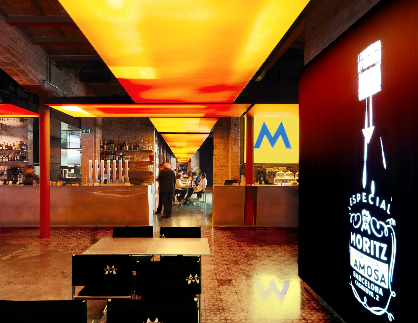 Barcelona Train station meeting rooms Restaurant Moritz Brewery - Brewery Space image 1
