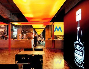 Barcelone Train station meeting rooms Restaurant Moritz Brewery - Brewery Space image 1