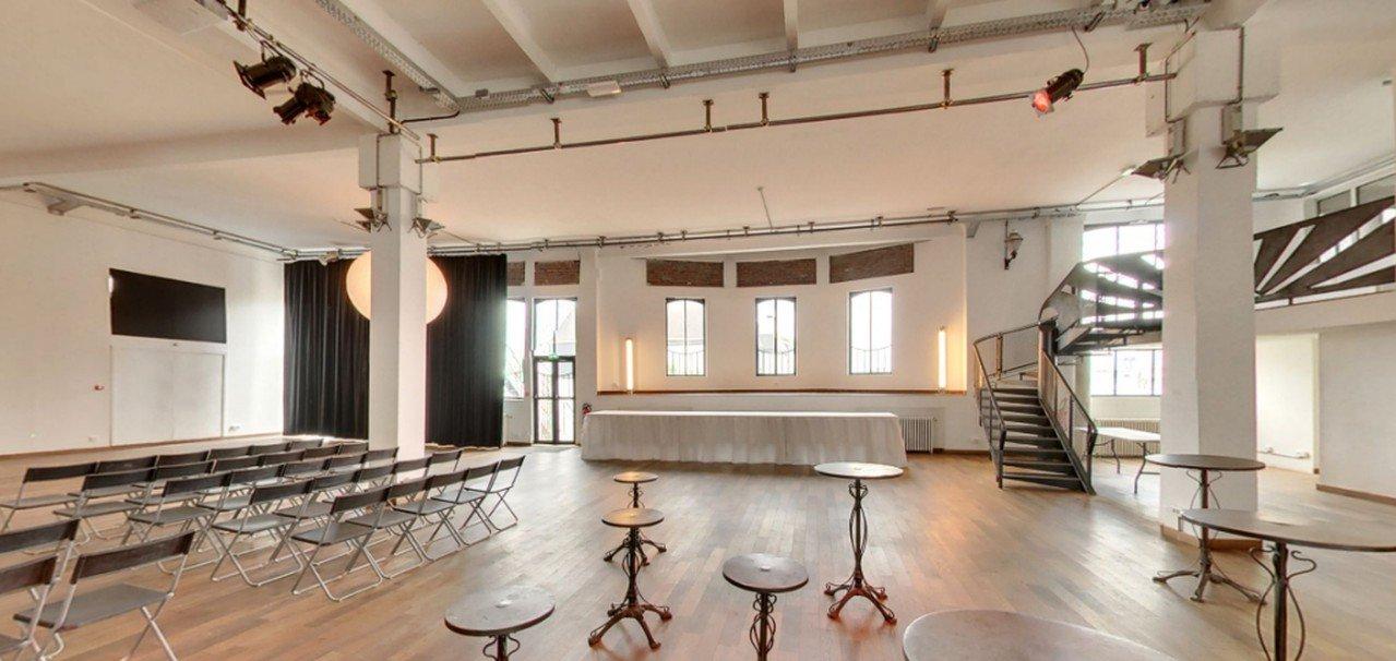 Paris corporate event venues Privat Location La Bellevilloise - Le Loft image 0