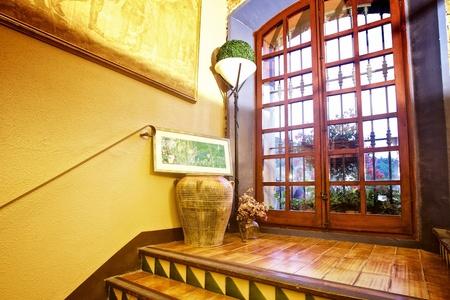 Barcelone seminar rooms Restaurant Mas Corts - Sala Azul image 3