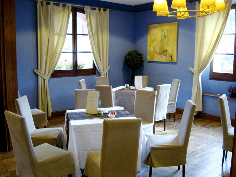 Barcelone seminar rooms Restaurant Mas Corts - Sala Azul image 1