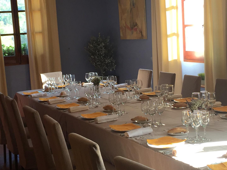 Barcelone seminar rooms Restaurant Mas Corts - Sala Azul image 2