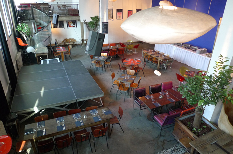 Paris corporate event venues Restaurant La Bellevilloise - Le Forum image 0
