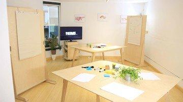 Paris Salles de conférence Coworking space Volumes - Petite salle de réunion