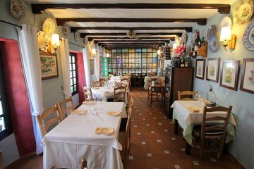 Malaga corporate event venues Restaurant El Capricho - Salon image 2